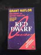 Red Dwarf Omnibus. -  Infinity welcomes careful drivers.